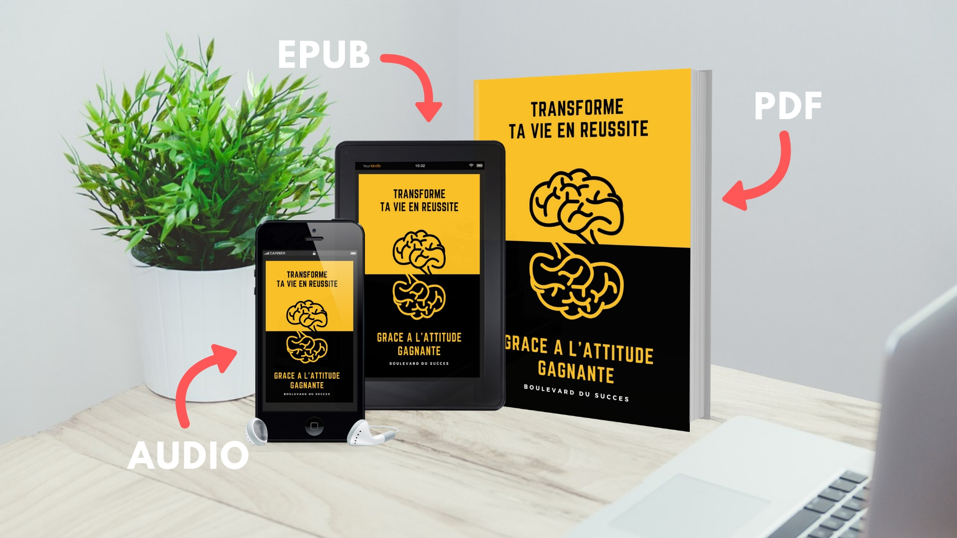 Ebook offert Transforme ta vie